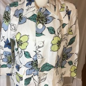 3/$15 Emma James Jacket Multi Color size 12P